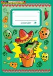 ICO leckefüzet A/5 kaktusz 34 lap