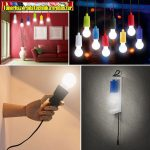 43998BK - Húzókapcsolós függesztett LED lámpa