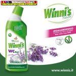 Winnis Naturel WC tisztító gél Levendula illattal 750ml