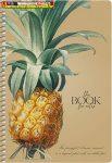 SHKOLYARYK Vintage Spirálfüzet, A5, kockás, 96 lap, keményfedeles,  vegyes minta, krém színű lapokkal (A/5)