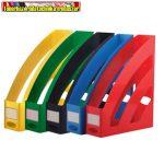 Iratpapucs műanyag 8 cm kül. színben ( 80mmx327mmx253mm)