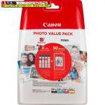 Canon CLI-581XL Eredeti Color Photo Pack (C,M,Y,BK) (cli581,cli581xl))