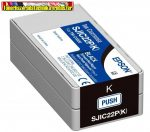 EPSON eredeti TM-C3500 PATRON BLACK 32,6ML (SJIC22P,C33S020601)