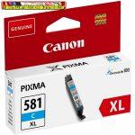 Canon CLI-581XL eredeti Cyan tintapatron