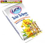 Lara Fresh nedves törlőkendő 15db/cs virág illat