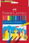 Faber-Castell 12es filctoll készlet (rostiron)