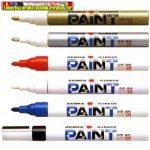 Zebra Paint Marker Lakkmarker olajbázisú (lakkfilc) 1,5mm arany,zöld,lila,ezüst