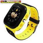 Media-Tech MT858 KIDS LOCATOR GPS 2.0 Nyomkövető óra, Fekete/Sárga (okosóra)