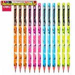 Deli 37006 Dancing color hatszögletű grafitceruza darabra HB vegyes színekben