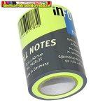 Jegyzettömb Info Notes  5620-33  öntapadós henger 60 mm x 10 m neon zöld