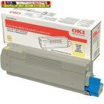 OKI 46508709 EREDETI nagy kapacítású Lézertoner C332, MC363 nyomtatókhoz, Yellow; 3K