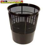 Papírkosár Fornax műanyag rácsos 16 literes, fekete