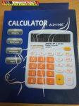 Antilop A-2114C 14 digit asztali számológép narancs