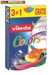 Mosogatószivacs, 3+1 db, VILEDA Pure Active Colors