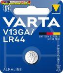 VARTA Gombelem, V13GA/LR44/A76, 1 db,