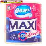 Ooops Maxi Design (500 lap/tek) – Háztartási papírtörlő (2 rétegű) (kéztörlő)