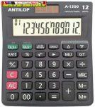Antilop A-1200 asztali számológép 12 számjegy nagy, döntött kijelző (A1200)