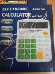 Antilop A-2114C 14 digit asztali számológép zöld