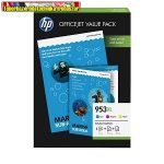 HP TINTAPATRON PACK 1CC21AE 953XL (3db színes patron) + A4 papír