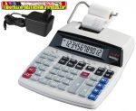 Genie D69Plus szalagos számológép (adapterrel)