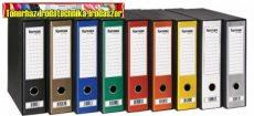 FORNAX Prestige prémium tokos iratrendező A/4 80mm kül.színben