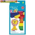 Gyurma CONNECT 8 szín, 152g, felakasztható karton dobozban
