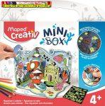 MAPED CREATIV, Mini Box 3D színező kreatív készségfejlesztő készlet,
