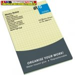 Öntapadós jegyzettömb Info Notes 100x150 mm 100 lapos sárga kockás 5669-01-K