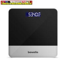 Bewello BW3010GY  Személymérleg - 180 kg - elemes - fekete / szürke