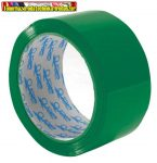 Ragasztószalag 48x60 zöld (48mmx60m) Tape&go