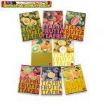 Füzet Pigna Fruits A/5 tűzött 42 lapos kockás (27-32, 27-42)