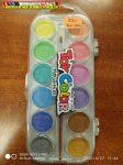 Toy color Vízfesték készlet 12-es gyöngyházfényű
