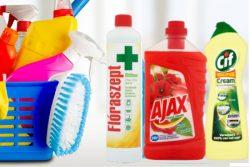 Általános tisztító és fertőtlenítő szerek