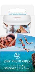 HP Sprocket Zink fotónyomtató fotópapír