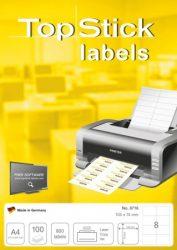 Topstick univerzális öntapadós címkék (etikett)