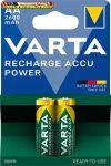 VARTA Professional Accu Tölthető elem, AA ceruza, 2x2600 mAh, előtöltött,
