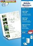 Avery-Zweckform 2583 A4 matt fotópapír tintasugaras nyomtatóhoz 170gr. 2 oldalas 100 lap/cs