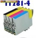 Epson T1281,T1282,T1283,T1284 utángyártott tintapatronok  9ml/szín