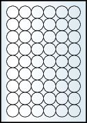 Rayfilm Univerzális címke (etikett) Színes körcímke 30 mm(r) 54címke/lap 20lap/dob
