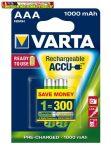 VARTA Professional Accu Tölthető elem, AAA mikro, 2x1000 mAh,