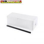 14mm műanyag spirál, 81-100 lapig 100db/dob (fehér,fekete színben)
