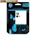 HP C6615D No 15 fekete tintapatron Deskjet 810C ,812C , 816C , 825C , 840C , 841C , 842C , 843C ,845C , 916C , 920C , 940C , 3820 , 3910 , 3915 , 3930,3940 sorozat, PSC 500 ,750 ,950   (25ml/600o.)