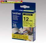 Brother TZ szalagok, TZ-C31 fluor sárga/fekete 12mm (TZe-C31)