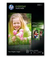 Hp Q2510A  Photo paper glossy 100lap/cs A/4 200 gr
