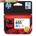 HP 655 CZ110AE No.655 Cyan eredeti tintapatron DJ Ink Adv. 3525 5525 4615 4625 (600 old.) CZ110AE