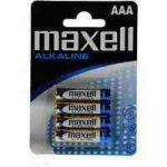 Maxell LR03 AAA Alkaline (micro ceruza) elem 4db/cs, db-ár