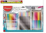 MAPED, 33 darabos Felnőtt színezőkészlet
