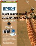 Epson T0711H TWIN PACK eredeti tintapatron