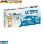 RAPID Strong Tűzőkapocs, 24/6, horganyzott 1000db/dob