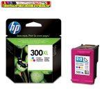 Hp CC644EE No.300XL színes Vivera tintás eredeti tintapatron (D2560,F4224, F4280) 440 old.